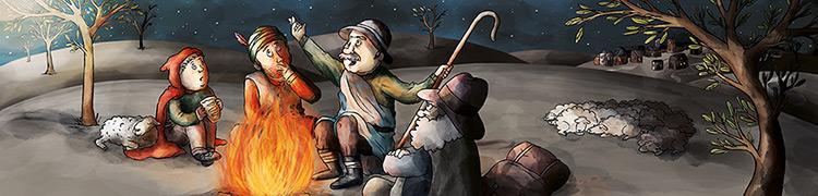 Illustration für ein Lesebuch // Illustration for a storybook.  © Mildenberger Verlag